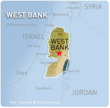 A2Z West Bank Map